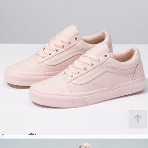 Vans Old Skool Mono Canvas Peach Blush Shoes